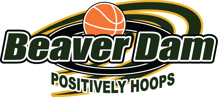 Beaver dam positively hoops logo