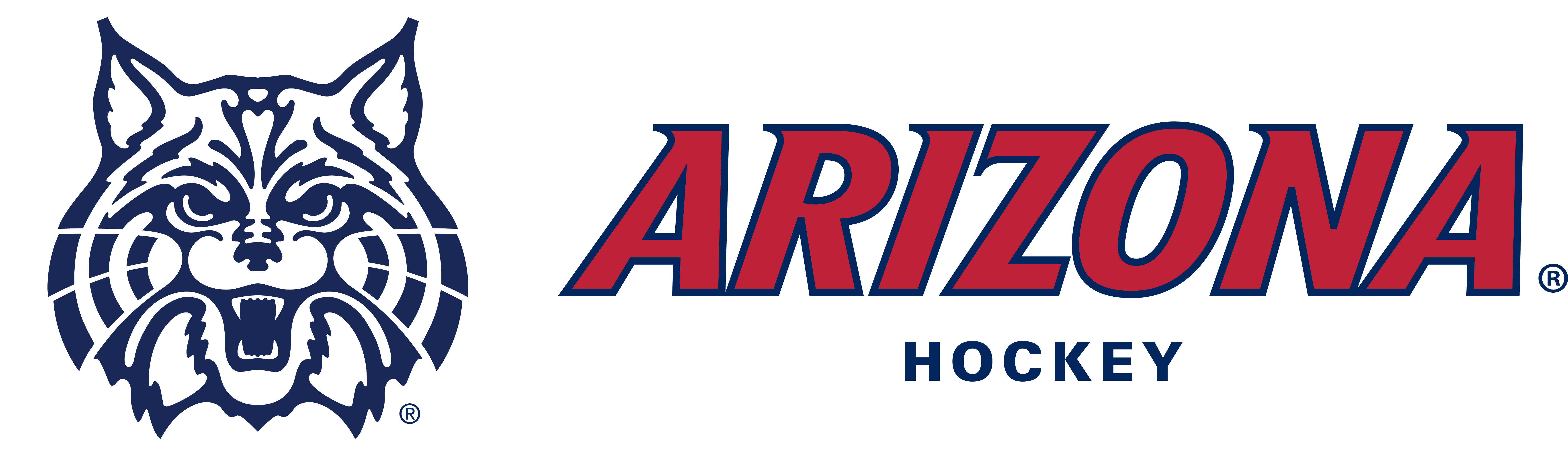 Wildcat clubfont hockey red blue