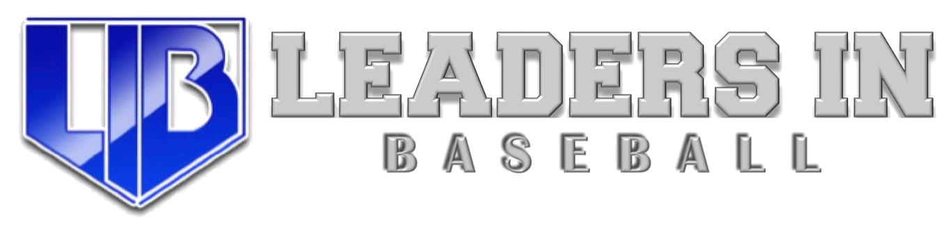 Leaders in baseball logo new