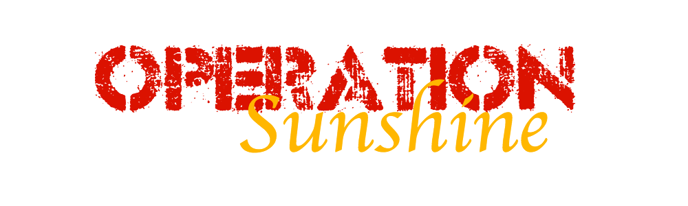 Operation sunshine banner