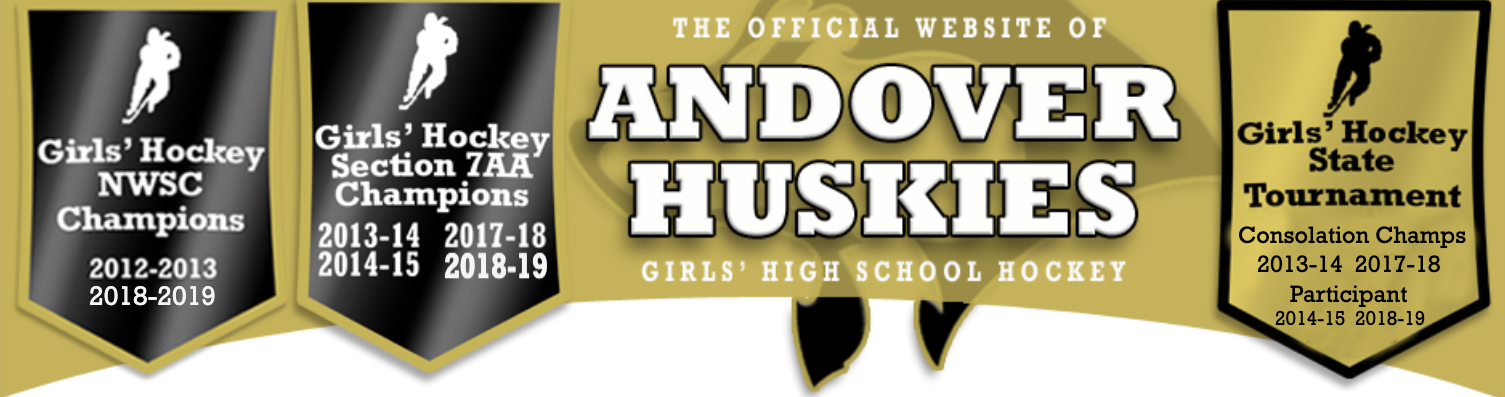 Andover girls website banner 2019 2020