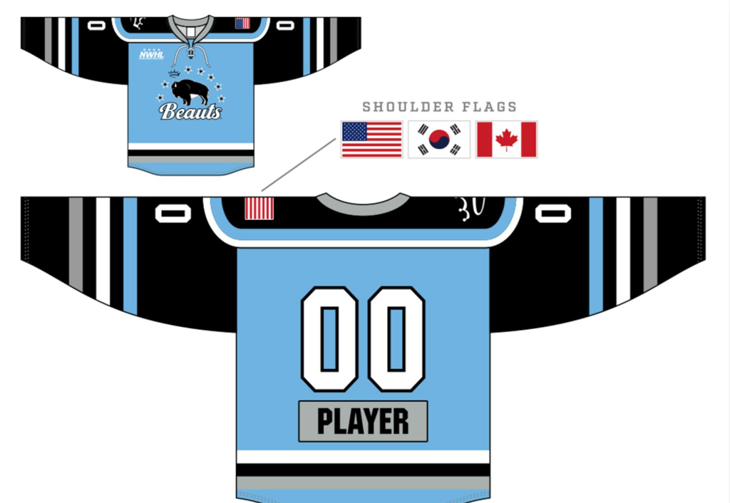 Buffalo Beauts - 2017-2018 Regular Season - Roster -  95 - Taylor ... d0db9506d7e
