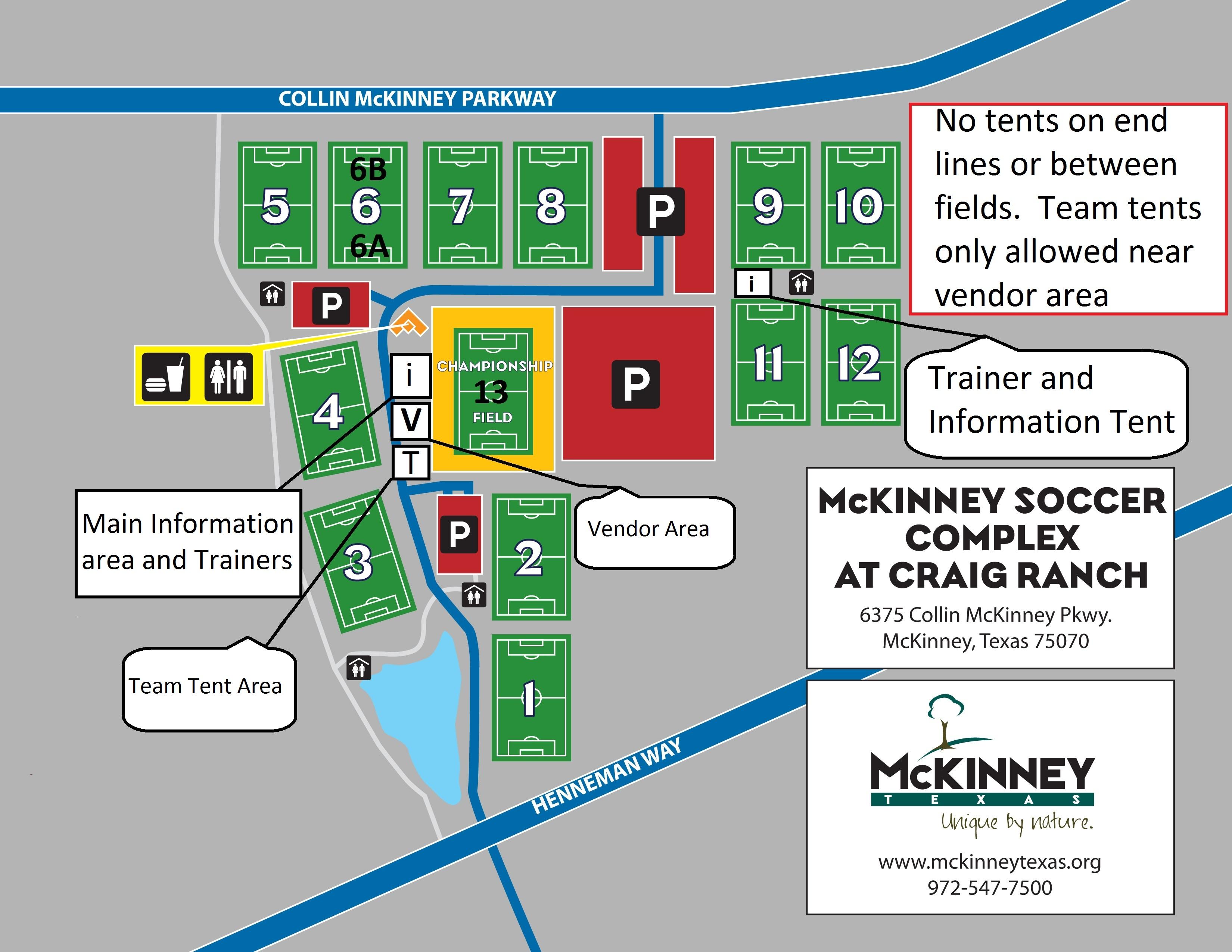 Craig Ranch Soccer Field Map Richland College Field Map Ross Stewart Field Map DTSC