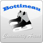 Bottineau arena button