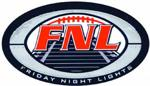 Friday night lights flag football logo