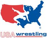 Usawrestling logo stacked