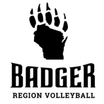 Badger region paw logo