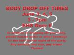 Body drop off