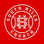 South hills logo white pinto national   mustang