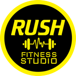 Rush fitness studio   logo