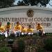 Martial arts students learning about education at the University of Colorado