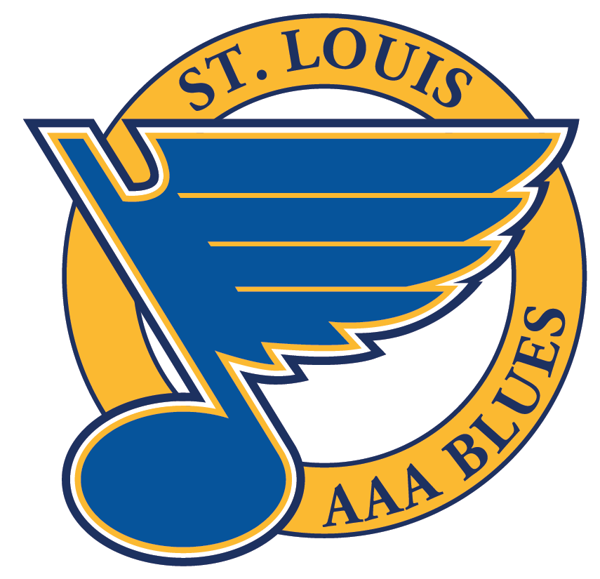 photograph about St Louis Blues Printable Schedule titled St. Louis AAA Blues Hockey
