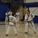 Martial arts students developing their body, mind and spirit through training