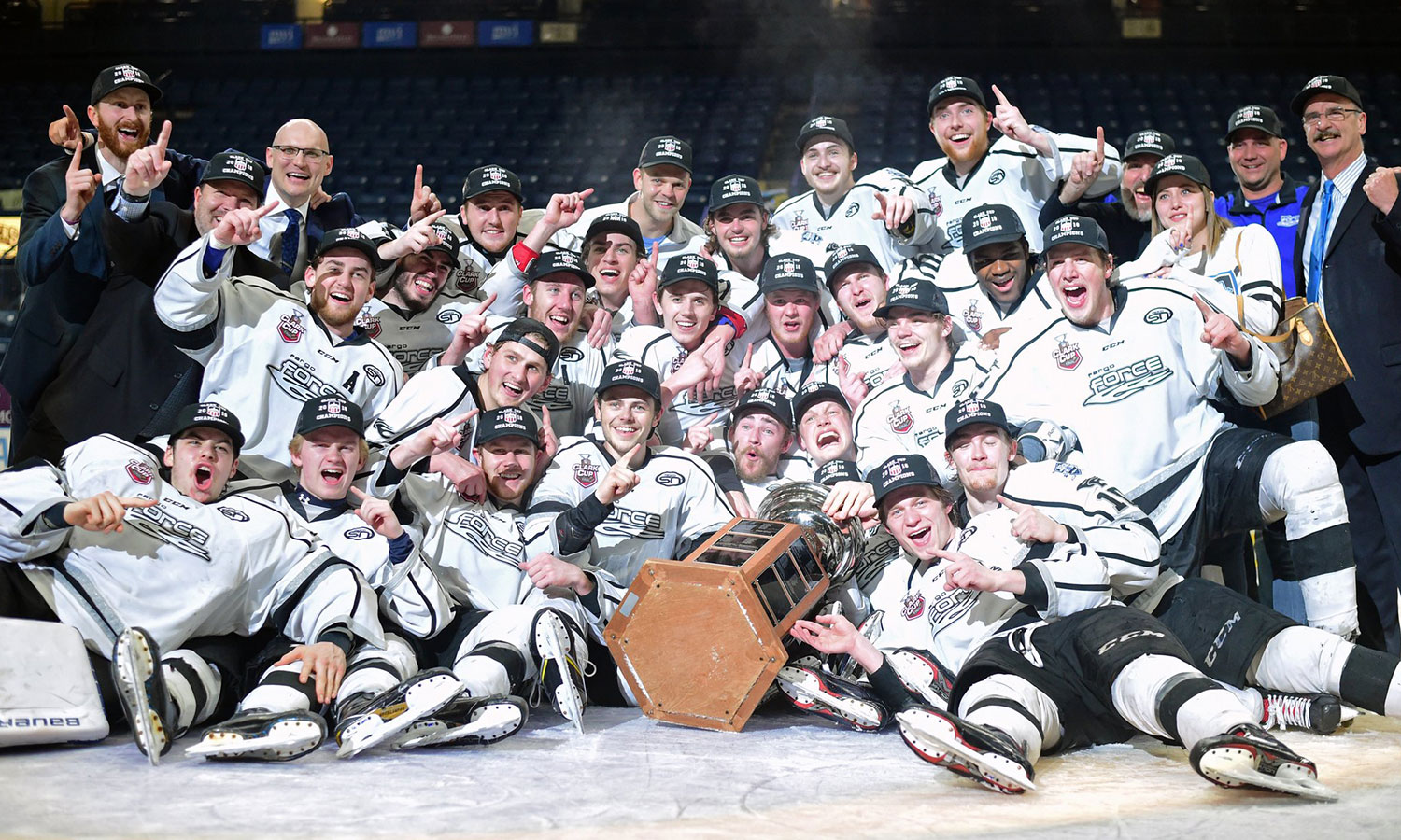 USHL: Fargo Force Win 2018 Clark Cup
