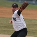 Dicky Gofton Pitches for the Kent Mariners