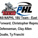 Three 18U National Premier Titans make All-NAPHL 18U East Division Team
