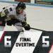 Muskegon scores three third period goals, but fall in OT