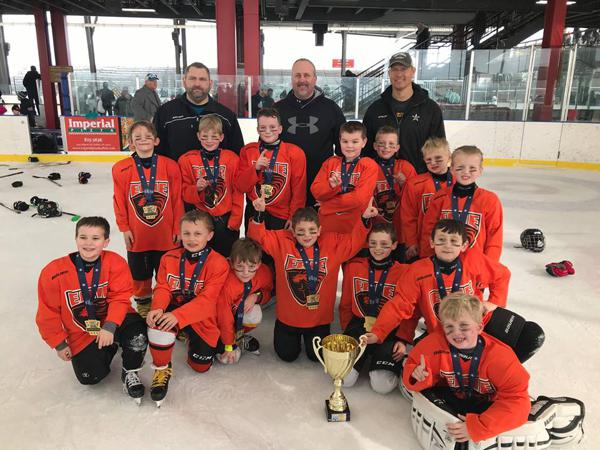 Erie Lions Mites Take Championship At Buffalo Winter Classic Cup