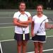 Trinity twin sisters Hope (left) and Natalie Babbington have been playing tennis since they were 9.  |  Courtesy of Mary Ann Lappe