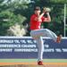 Pyles pitching at Memphis