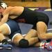 Deerfield's Colton Emmerich wrestles Glenbrook South's Shouki Shunnarah