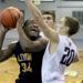 Leyden sophomore JoQuill Meeks looks to take a shot