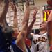 Loyola's Kevin Kucera puts up a shot in the paint