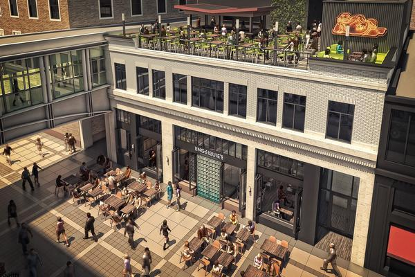 Construction Begins On Big Nicollet Mall Restaurant With Rooftop Patio