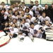 Victory photo of the North Shore Winter Club Bantam AAA Team winning the Western Canadian Hockey Championship.