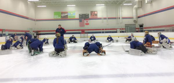 Goalie Camp Highlights Growth In Women S Hockey