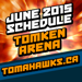 This Mississauga Tomahawks Lacrosse Schedule is here for June. Friday, June 26 and Saturday June 27 will be our end-of season tournament and Pizza Parties for all divisions!