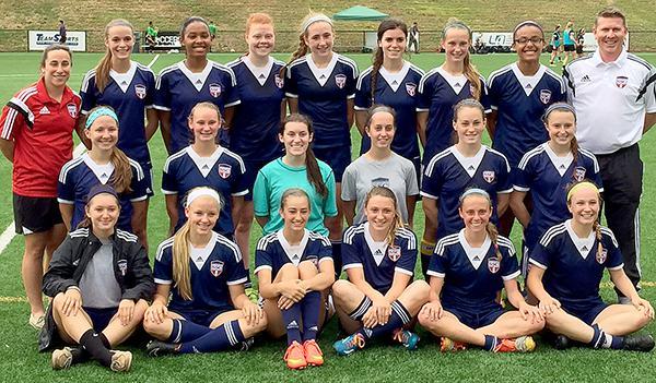 SSC U16G State Cup Champions