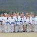 Martial arts kids in their Taekwondo unforms