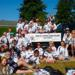 Avalanche Girls at 2015 Canada Day Parade