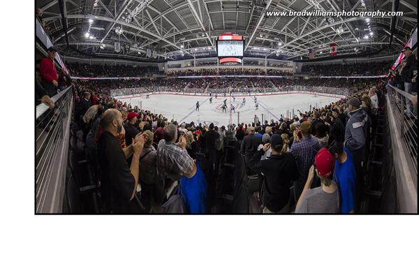 Omaha Opens Baxter Arena with Win