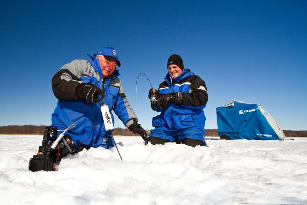 Seminar schedule announced for nsc 39 s hard water ice for Ice fishing show