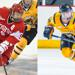 Left: Lefort (Photo by Steve McLaughlin) Right: Cianfarano (John Hassett/Quinnipiac Athletics)