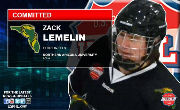 Florida Eels Zack Lemelin Joins Brother With College Commitment