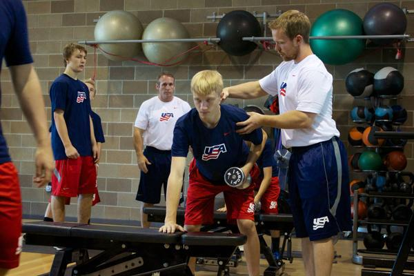 5 Off Season Workouts With Ntdp S Darryl Nelson