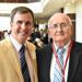 Tom McCoy (right) and his son, David '86, at the 2015 Chaminade Sports Hall of Fame Induction Ceremony