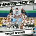 12U Lady Sting LCAHL Tier III Champions