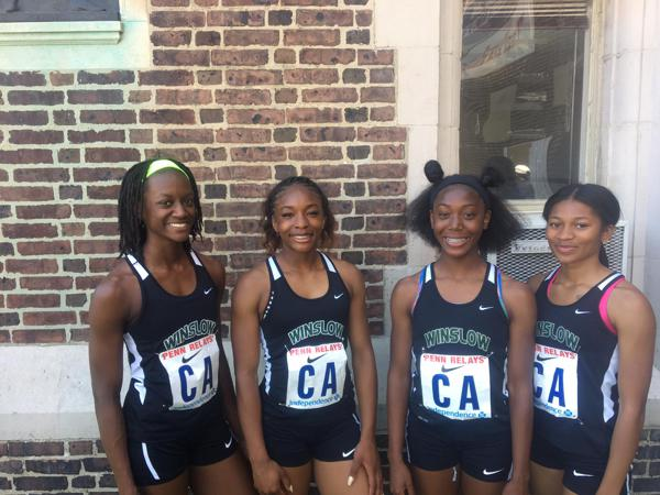 Track: Winslow charges to large school title at Penn Relays