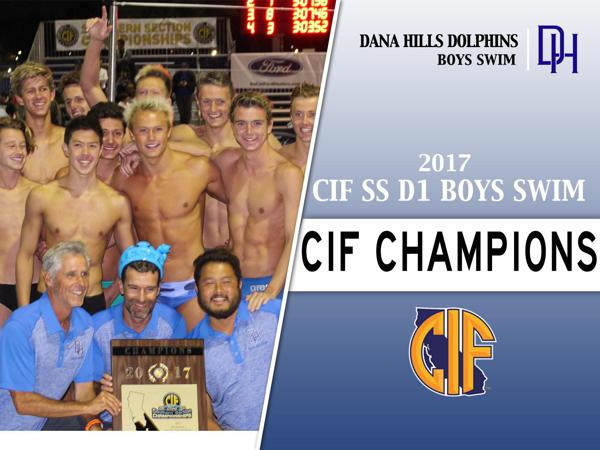 Dolphins Swim Team Captures First-Ever CIF-SS Championship