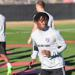 Adonijah Reid running at training, with a FC Dallas shirt on