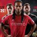 Graphic image of Andrae Campbell in front, Ryan Williams behind him (left) and Callum Irving behind him (right) with the information about the friendly game between Fury FC and the Montreal Impact