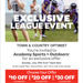 Sunday, July 30th T&C Shop Day at Acadamy. Coupon Attached