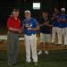 Chairman Paster with Tournament MVP Sean Casey