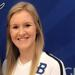 Blinn College freshman Claire Chapman poses in her volleyball uniform