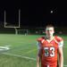 Cherokee senior captain Andrew Cardinali after blocking extra point in overtime for win over Shawnee.