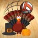 Spikesgiving Volleyball Graphic